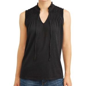 Time and Tru Women's Lace Tank Top